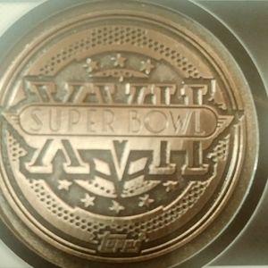 Super bowl coin